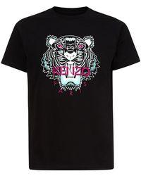 Kenzo Tiger Print T-Shirt - Lyst