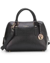 Furla Elena Saffiano Leather Satchel - Lyst