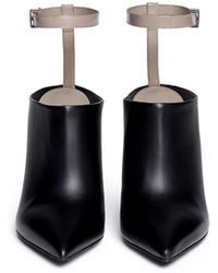 Vince 'Armon' Ankle Strap Leather Booties - Lyst