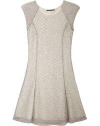 Theyskens' Theory Chuma Embellished Tulle Mini Dress - Lyst