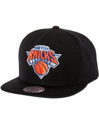Mitchell & Ness The New York Knicks Wool Solid Snapback - Lyst