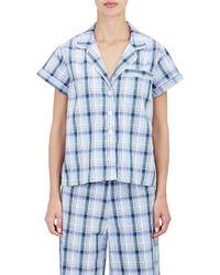 Steven Alan - Women's Piped Pajama Shirt - Lyst