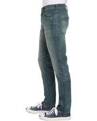 Levi's Light Green Cast Slim-Fit 511 Jeans - Lyst