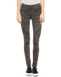 James Jeans Twiggy 5 Pocket Legging Jeans - Artillery - Lyst