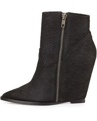 Ash Julie Hidden-wedge Bootie - Lyst