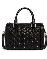 Thomas Wylde 'Baby Love' Skull Stud Quilted Leather Duffle Bag - Lyst