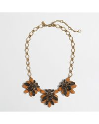 J.Crew Factory Stacked Crystals Necklace - Lyst