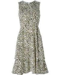 Stella McCartney Leopard Dress - Lyst