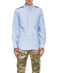Mark Mcnairy New Amsterdam Oxford Cotton Button Down - Lyst