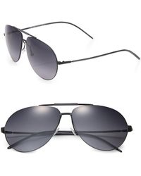 Dior Homme Metal Aviator Sunglasses - Lyst