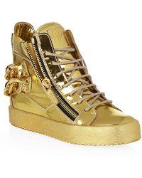 Giuseppe Zanotti Michael High Top Sneakers - Lyst