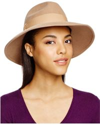 Bettina - Wide Brim Fedora - Lyst