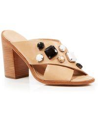 Loeffler Randall Jeweled Sandals - Etta High Heel - Lyst