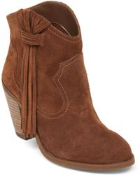 Jessica Simpson Colver High-Heel Booties - Lyst