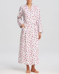 Carole Hochman Floral Arrangements Long Robe - Lyst