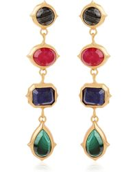 Isharya - Rani Rocks Earrings - Lyst