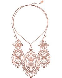 Vivienne Westwood Pink Isolde Necklace - Lyst