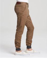 Zanerobe Dynamo Slim Fit Chino Pants - Brown