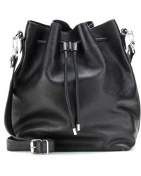 Proenza Schouler Large Grained-leather Bucket Bag - Lyst