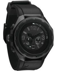 Nixon All Black Steelcat Watch - Lyst