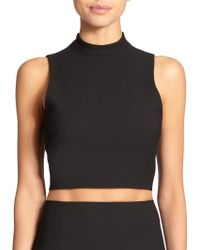 Elizabeth And James Avita Crop Top - Lyst