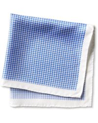 Banana Republic Four-In-One Silk Pocket Square blue - Lyst