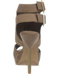 Fergie - Emmie Platform Covered Sandals - Lyst