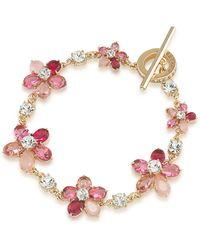 Carolee - Flower Toggle Bracelet - Lyst
