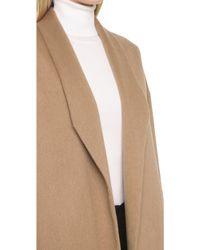Ayr - The Robe Coat - Camel - Lyst