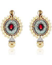 Abellan New York - One Of A Kind Sultan's Treasure Pendant Earrings - Lyst