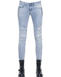 Diesel Black Gold Perge Stretch Cotton Denim Jeans blue - Lyst