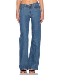 Blank NYC Flared Mid-Rise Stretch-Denim Jeans - Lyst