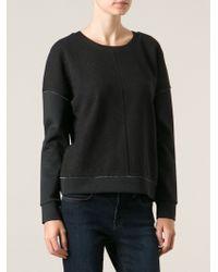 J Brand Montana Sweatshirt - Lyst