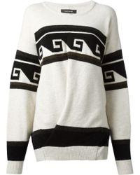 Isabel Marant Samuel Oversized Sweater - Lyst