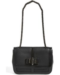 Christian Louboutin Sweet Charity Small Leather Shoulder Bag black - Lyst