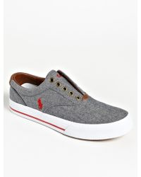 Ralph Lauren Collection Vito Slip-On Sneakers - Lyst