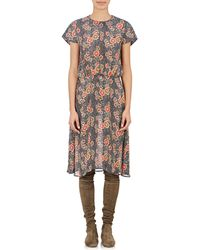 Etoile Isabel Marant Saky Blouson Dress multicolor - Lyst