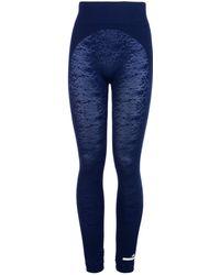 Adidas By Stella McCartney | Essentials Snake Print Seamless Leggings | Lyst