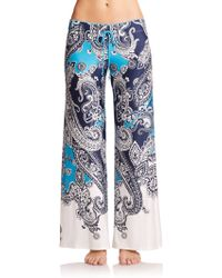 In Bloom Paisley Jersey Lounge Pants multicolor - Lyst
