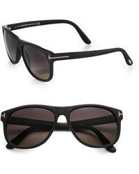 Tom Ford Olivier Acetate Sunglasses - Lyst