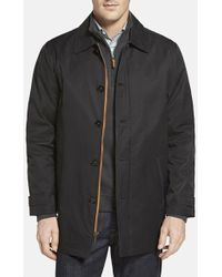 Rainforest | Water Resistant Cotton Blend Overcoat | Lyst