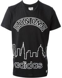 Adidas Run Dmc T-shirt - Lyst