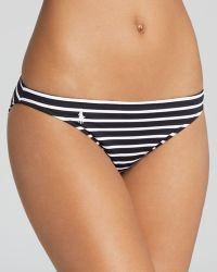 Ralph Lauren Polo Riviera Stripe Taylor Hipster Bikini Bottom - Lyst