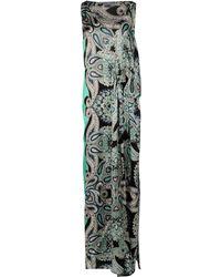 Lanvin Long Dress - Lyst