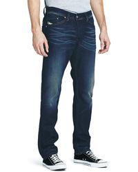 Diesel Mens Darron 827e Regular Slim Tapered Jeans - Lyst