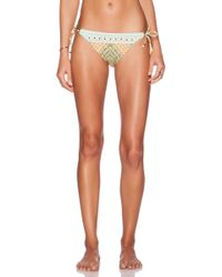 Nanette Lepore Paso Robles Vamp Bikini Bottom multicolor - Lyst