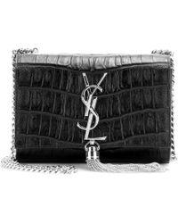 Saint Laurent Classic Monogramme Leather Shoulder Bag - Lyst