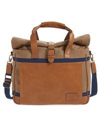 Original Penguin | Canvas & Leather Duffel Bag | Lyst
