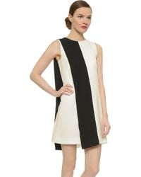 Narciso Rodriguez Sleeveless Dress - Black/White - Lyst