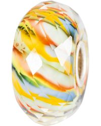 Trollbeads - Sterling Silver River Life Glass Bead - Lyst